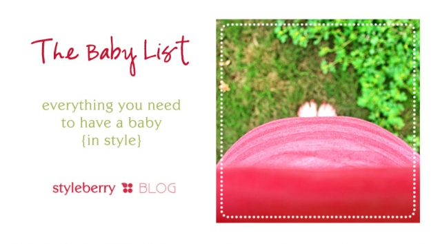 THE BABY LIST | everything you need to have a baby ...