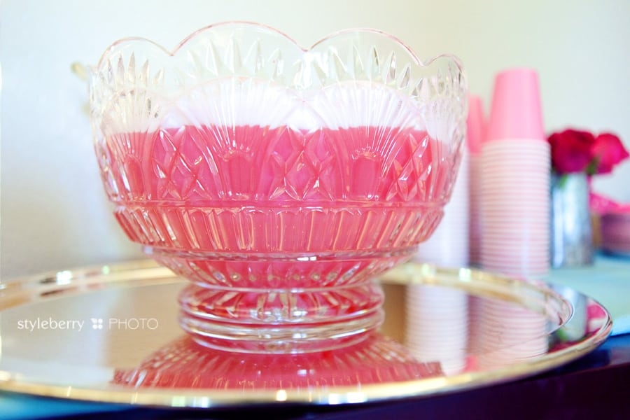 pink party punch | styleberryPARTY Pt. 5 » styleberry BLOG