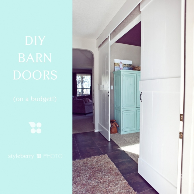 Barn Door ... & DIY Barn Doors (on a budget!) » styleberry BLOG Pezcame.Com