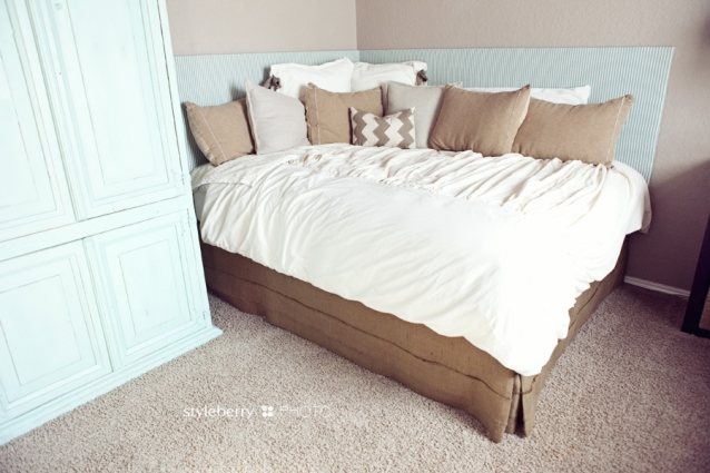 how to make a daybed dust ruffle 3