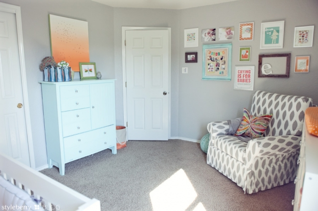 Nursery Paint Color Is All Things Thrifty
